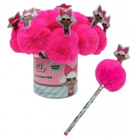 LOL Surprise pen with pom pom topper