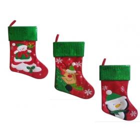 Skarpeta świąteczna na prezenty / Mikołaja - model do wyboru