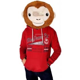Pluszowa głowa - małpa