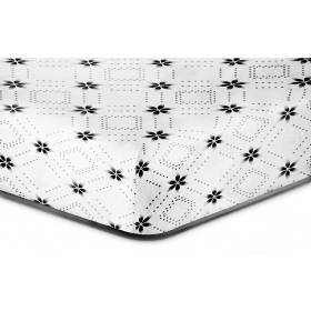 DecoKing Hypnosis Snowy night microfibre fitted sheet 100x200 cm