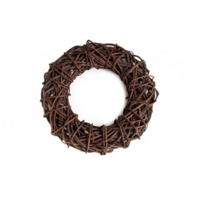 Thorny wicker wreath wed. 40cm