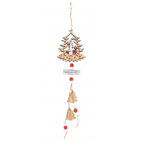 Christmas tree pendant 42x9 cm