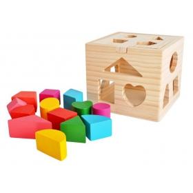 Educational cottage puzzle
