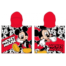 Mickey Mouse poncho towel fast dry