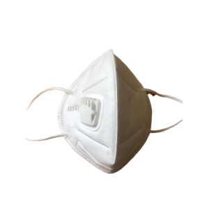 KN95 face mask with respirator