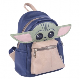 The Mandalorian The Child Eco-leather casual backpack Cerda