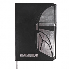 The Mandalorian Eco-leather notebook