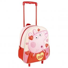 Peppa Pig 3D Trolley with wheels