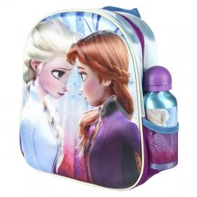Frozen 3D backpack for kindergarten with a water bottle Cerda