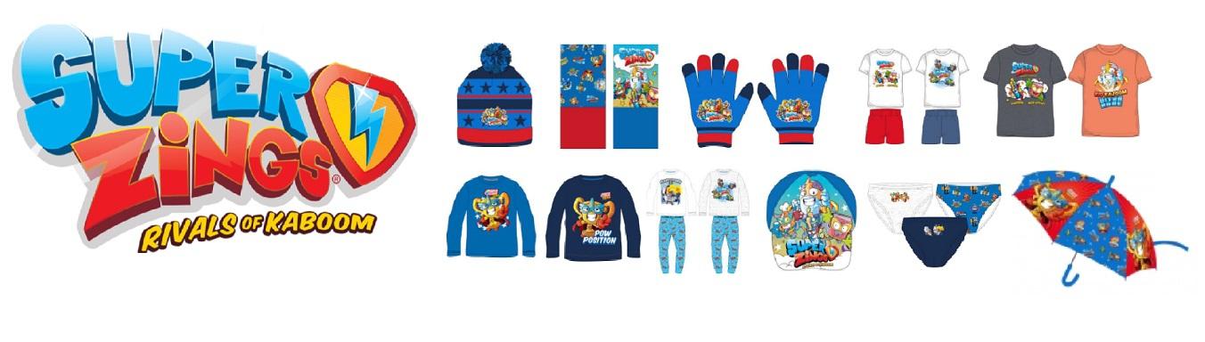Super Zings apparel wholesaler